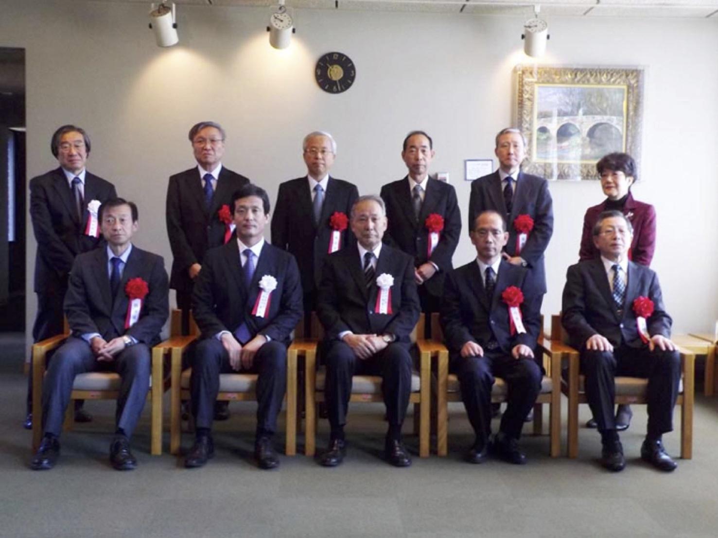 第85回日本農学大会にて西原先生...